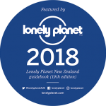 Featured by Lonely Planet New Zealand Guidebook